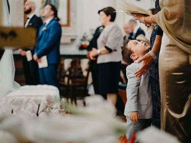 Il matrimonio di Pietro e Martina a Castro, Lecce 85