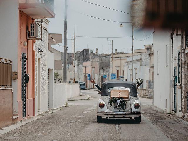 Il matrimonio di Pietro e Martina a Castro, Lecce 1