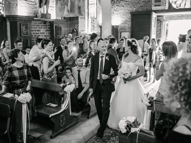 Il matrimonio di Giuseppe e Micaela a Certosa di Pavia, Pavia 15