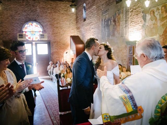 Il matrimonio di Giuseppe e Micaela a Certosa di Pavia, Pavia 18
