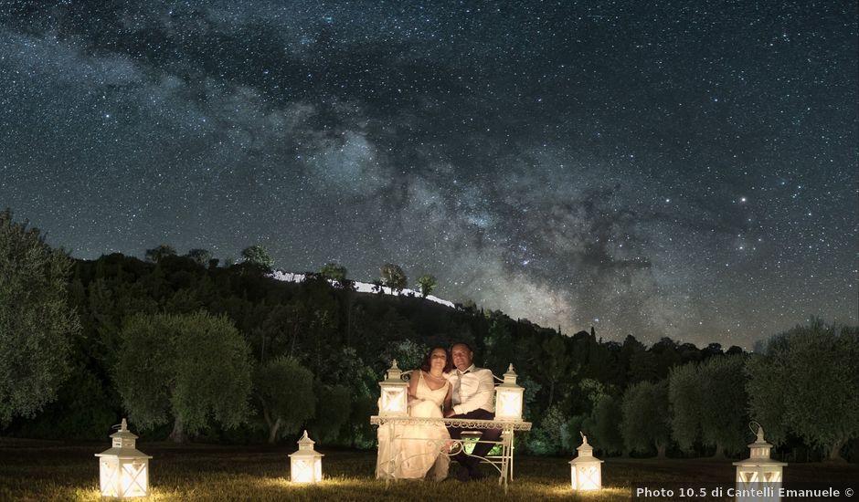 Il matrimonio di Stefano e Sandra a Cinigiano, Grosseto