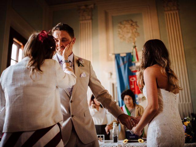 Il matrimonio di Daniel e Anna a Montespertoli, Firenze 71