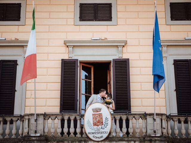 Il matrimonio di Daniel e Anna a Montespertoli, Firenze 75