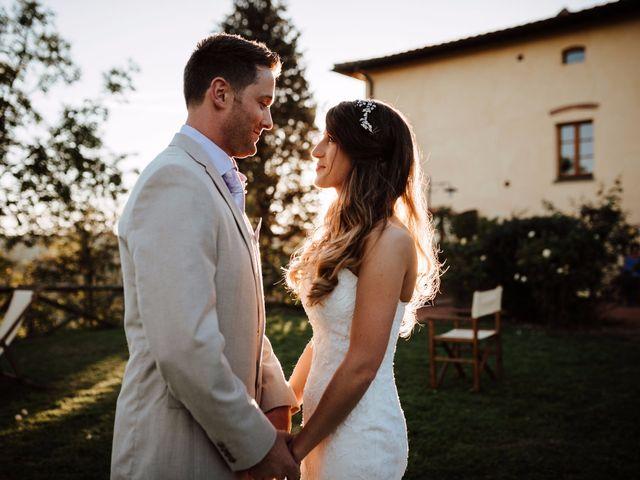 Il matrimonio di Daniel e Anna a Montespertoli, Firenze 83