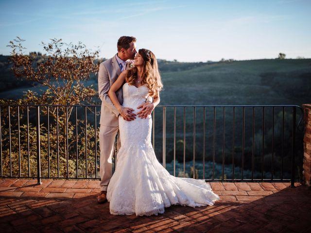 Il matrimonio di Daniel e Anna a Montespertoli, Firenze 93