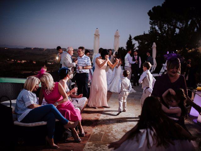 Il matrimonio di Daniel e Anna a Montespertoli, Firenze 98
