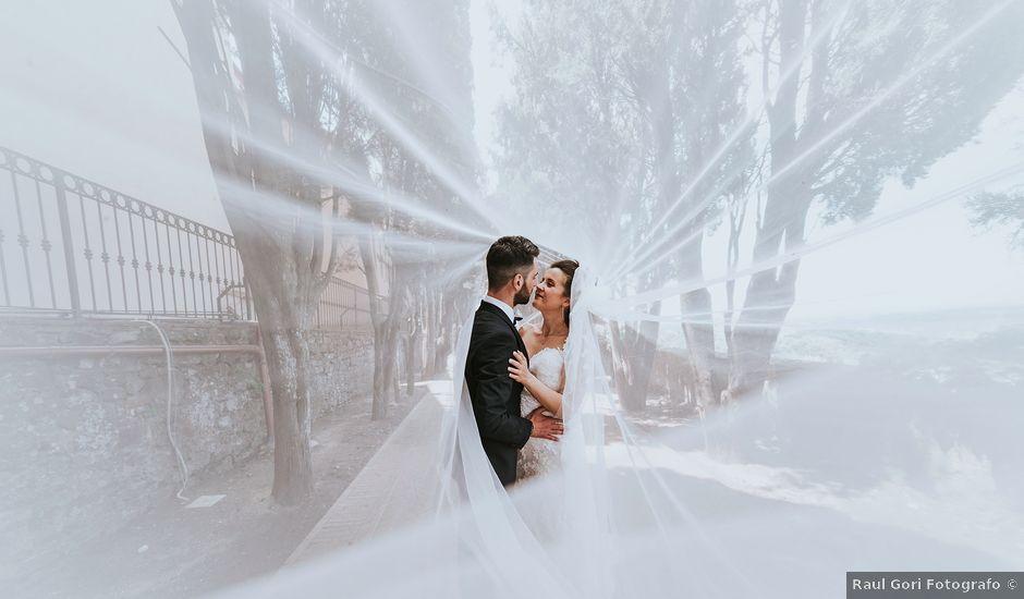 Il matrimonio di Filippo e Sara a Montescudaio, Pisa