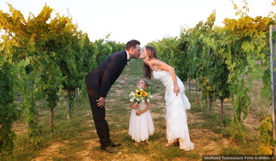 Il matrimonio di davide e beatrice a Senigallia, Ancona