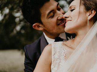 Le nozze di Laura e Morris