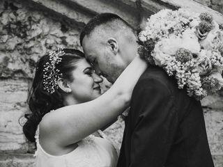 Le nozze di Alessandra e Bojan