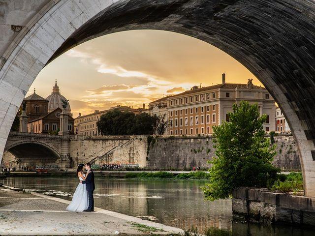 Il matrimonio di Massimo e Viviana a Roma, Roma 1
