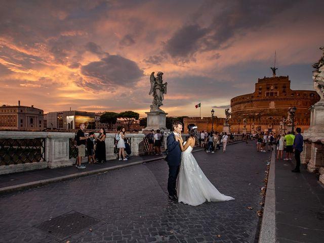 Il matrimonio di Massimo e Viviana a Roma, Roma 11