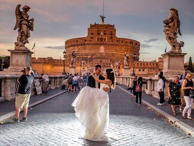 Il matrimonio di Massimo e Viviana a Roma, Roma 12
