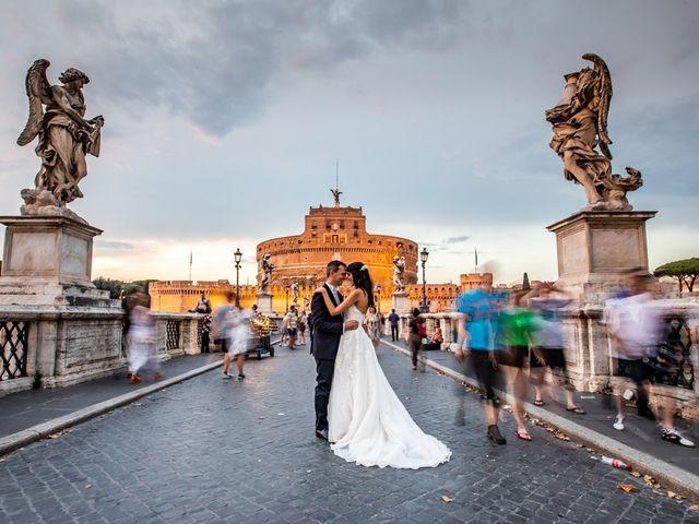 Il matrimonio di Massimo e Viviana a Roma, Roma 14