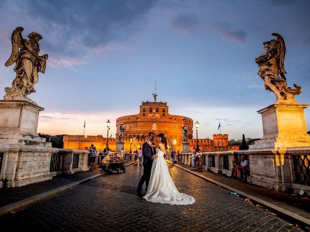 Il matrimonio di Massimo e Viviana a Roma, Roma 18