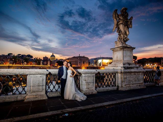 Il matrimonio di Massimo e Viviana a Roma, Roma 19