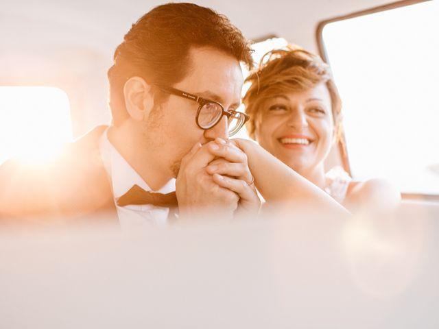 le nozze di Marika e Rossano