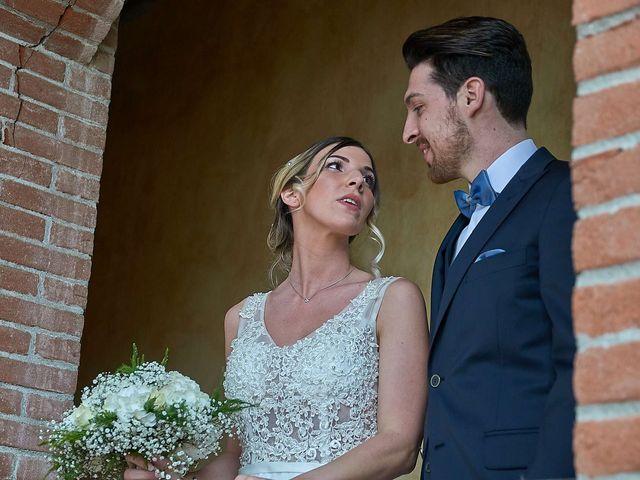 Il matrimonio di Luca e Jennifer a Candelo, Biella 20