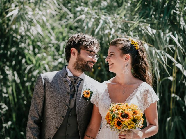 Le nozze di Stéphanie e Andrea