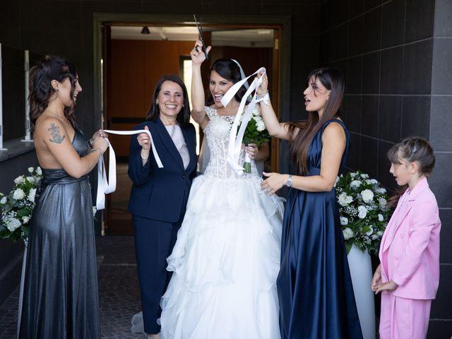 Il matrimonio di Massimiliano e Marta a Roma, Roma 30