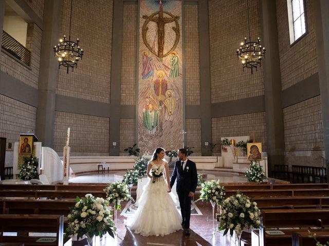Il matrimonio di Massimiliano e Marta a Roma, Roma 40