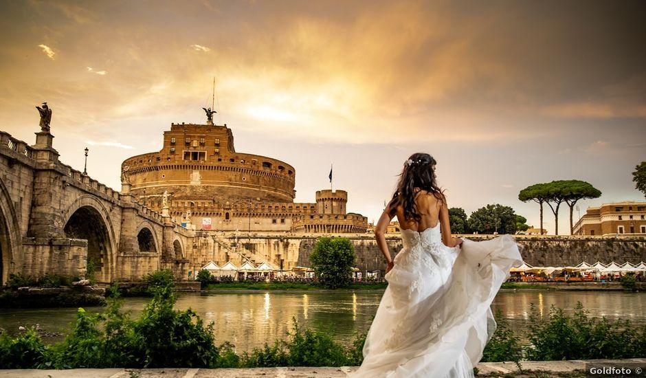 Il matrimonio di Massimo e Viviana a Roma, Roma