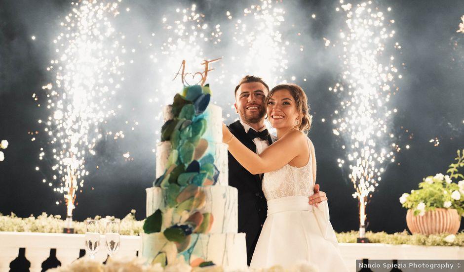 Il matrimonio di Armando e Federica a Vico Equense, Napoli