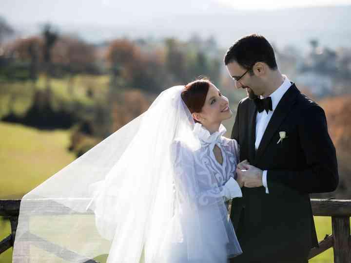 le nozze di Greta e Alessio