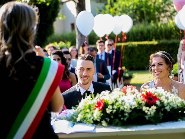 Il matrimonio di Michele e Sara a Campi Bisenzio, Firenze 4