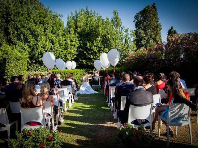 Il matrimonio di Michele e Sara a Campi Bisenzio, Firenze 34