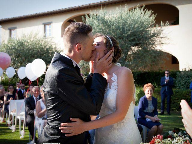 Il matrimonio di Michele e Sara a Campi Bisenzio, Firenze 36