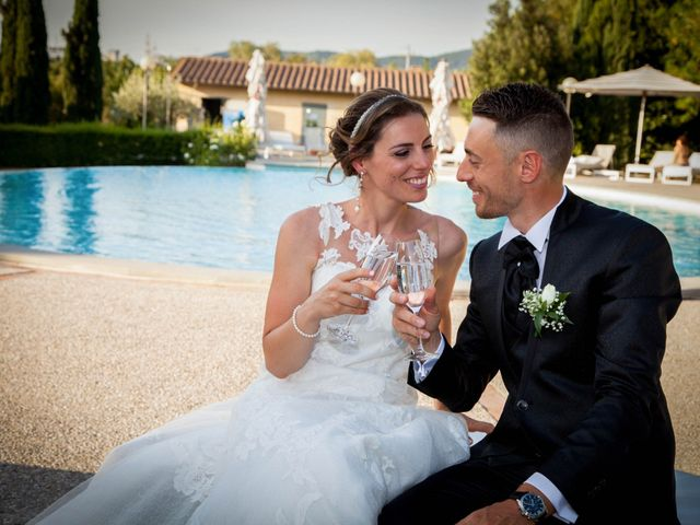 Il matrimonio di Michele e Sara a Campi Bisenzio, Firenze 39