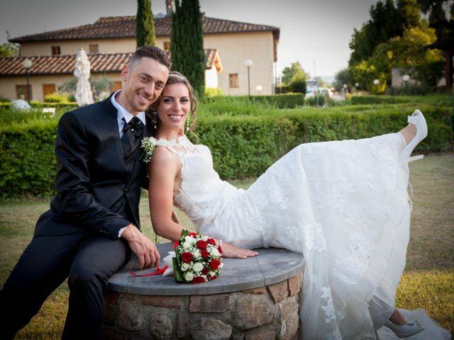Il matrimonio di Michele e Sara a Campi Bisenzio, Firenze 40