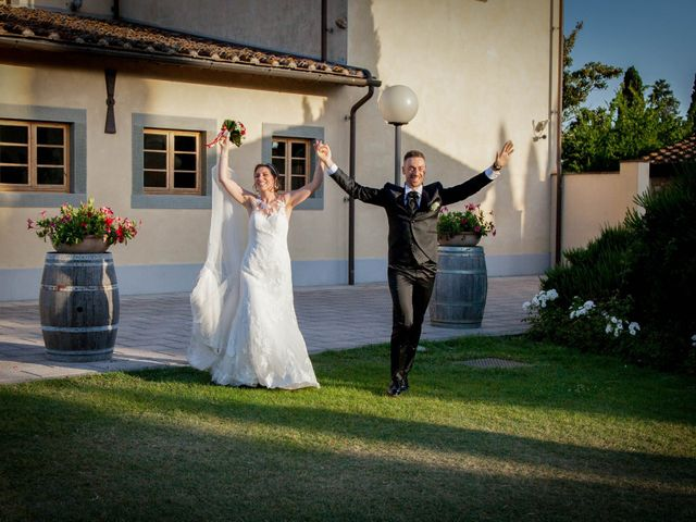 Il matrimonio di Michele e Sara a Campi Bisenzio, Firenze 42