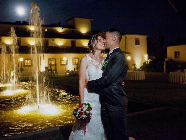 Il matrimonio di Michele e Sara a Campi Bisenzio, Firenze 54