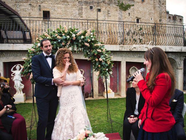 Il matrimonio di Federico e Carlotta a Nerola, Roma 11