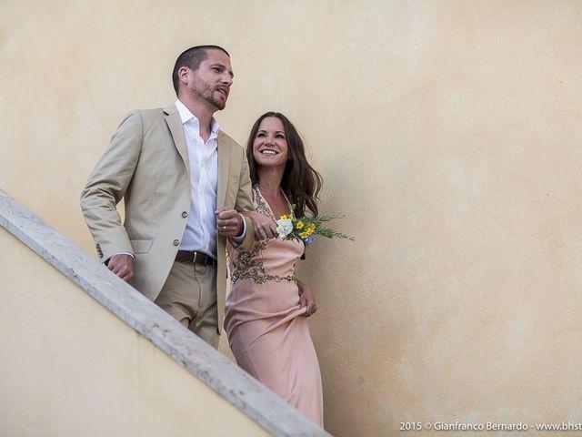 Il matrimonio di Brent e Danielle a Casole d'Elsa, Siena 2