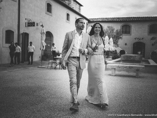 Il matrimonio di Brent e Danielle a Casole d'Elsa, Siena 3