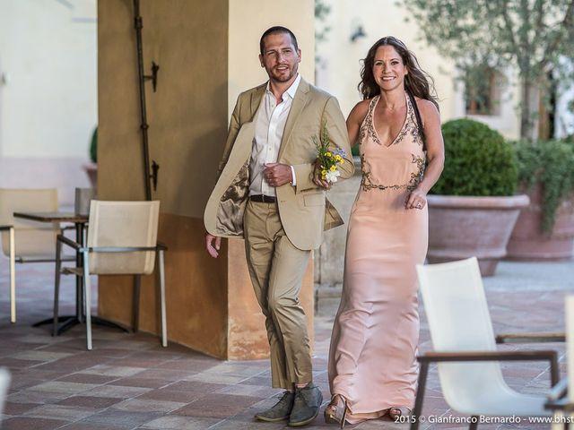 Il matrimonio di Brent e Danielle a Casole d'Elsa, Siena 4