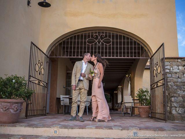 Il matrimonio di Brent e Danielle a Casole d'Elsa, Siena 5
