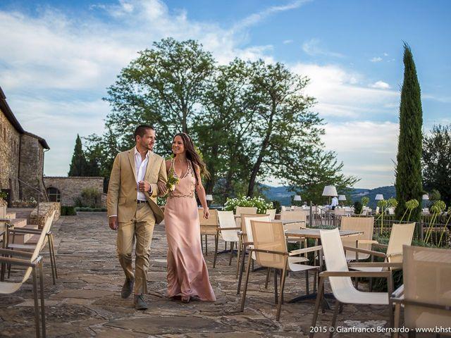 Il matrimonio di Brent e Danielle a Casole d'Elsa, Siena 6