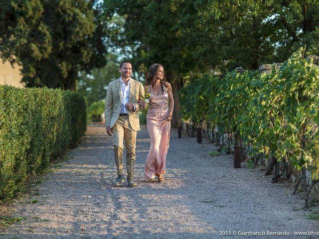 Il matrimonio di Brent e Danielle a Casole d'Elsa, Siena 8