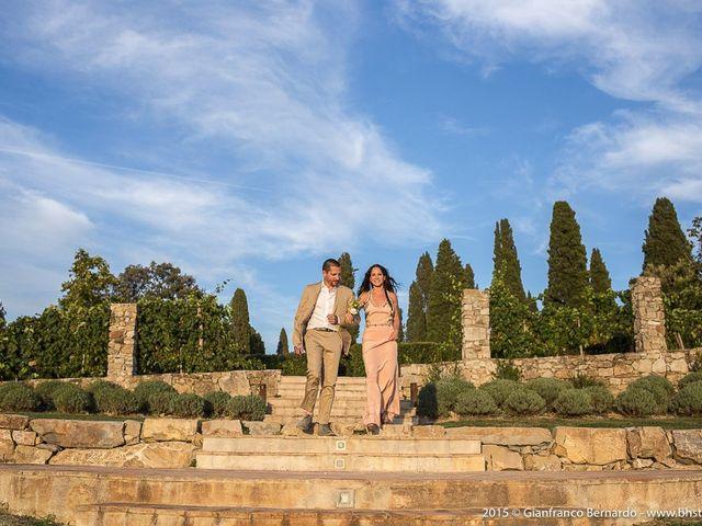 Il matrimonio di Brent e Danielle a Casole d'Elsa, Siena 9