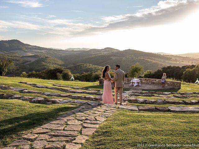 Il matrimonio di Brent e Danielle a Casole d'Elsa, Siena 10