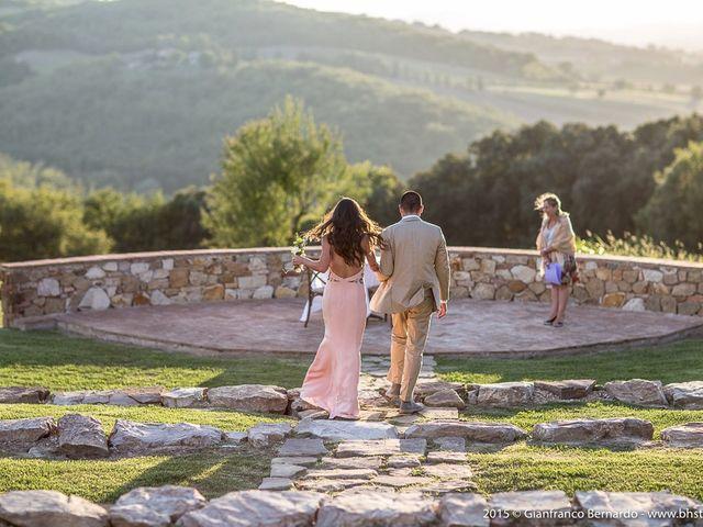 Il matrimonio di Brent e Danielle a Casole d'Elsa, Siena 11