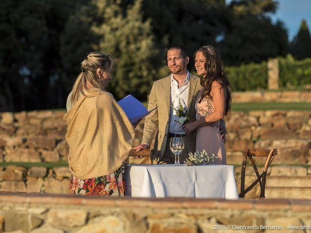 Il matrimonio di Brent e Danielle a Casole d'Elsa, Siena 12
