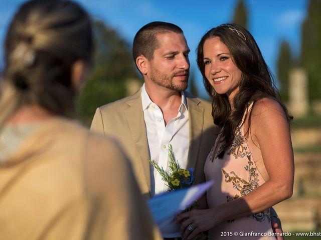 Il matrimonio di Brent e Danielle a Casole d'Elsa, Siena 13