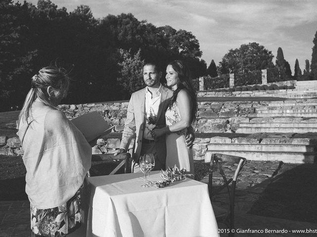 Il matrimonio di Brent e Danielle a Casole d'Elsa, Siena 14
