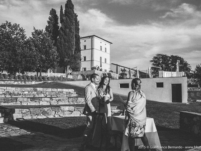 Il matrimonio di Brent e Danielle a Casole d'Elsa, Siena 15