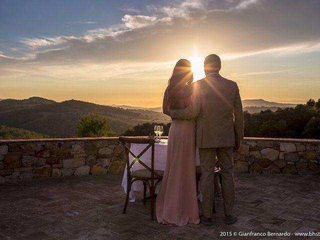 Il matrimonio di Brent e Danielle a Casole d'Elsa, Siena 17